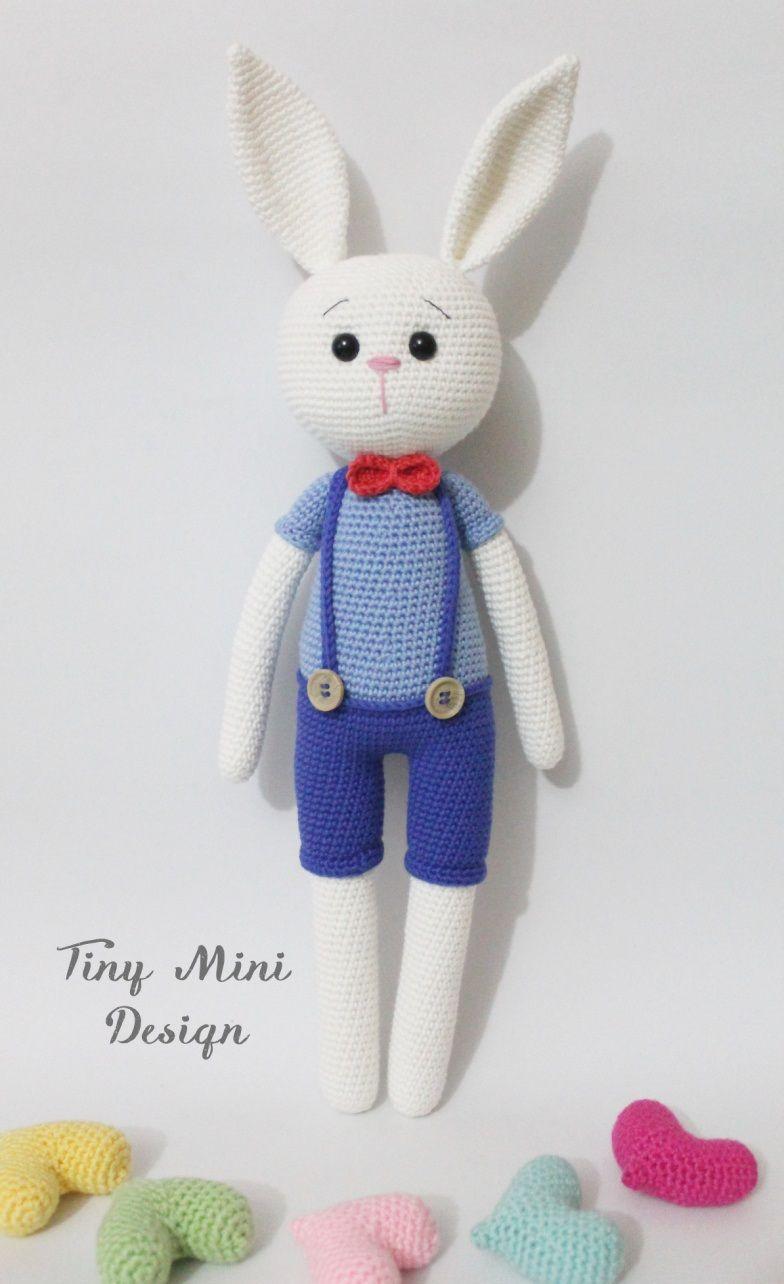 Muy pequeño Mini-Diseño conejito Amigurumi Patrón gratuito ...