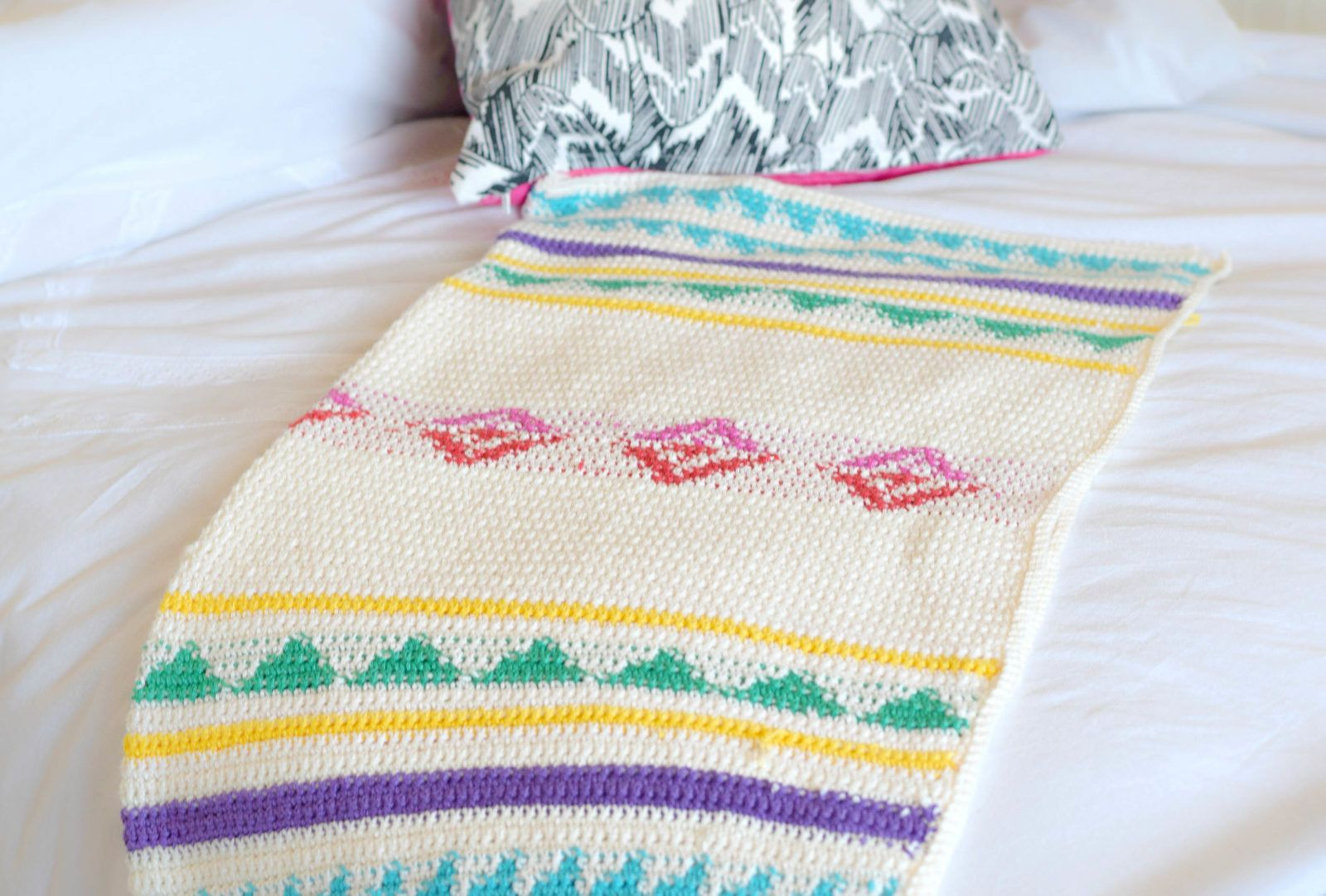 How To Work Tapestry Crochet (The Easy Way