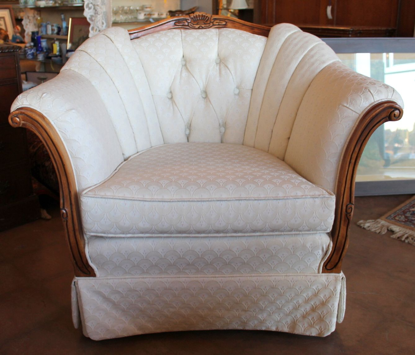 French Provincial Armchair From Kingsley Furniture.