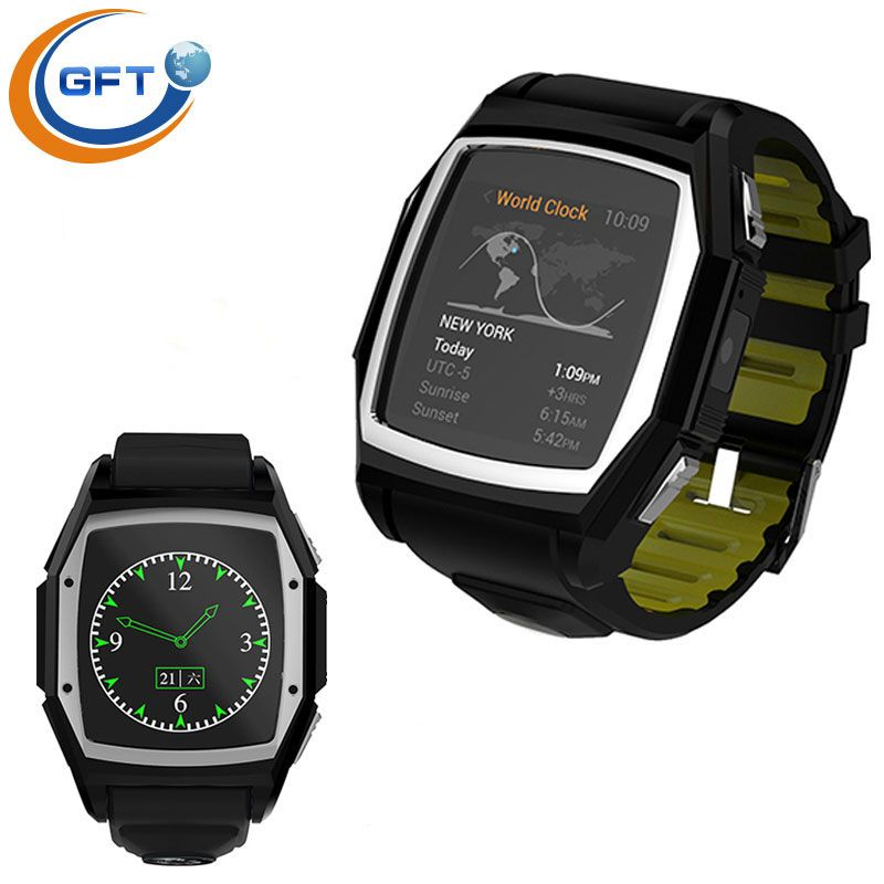 gft gt68 bluetooth smartwatch mit pulsmesser bluetooth. Black Bedroom Furniture Sets. Home Design Ideas