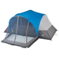 Outbound Dome Tent with Screen Porch features a large rain fly with taped seams for great  sc 1 st  Pinterest & Outbound Dome Tent with Screen Porch features a large rain fly ...