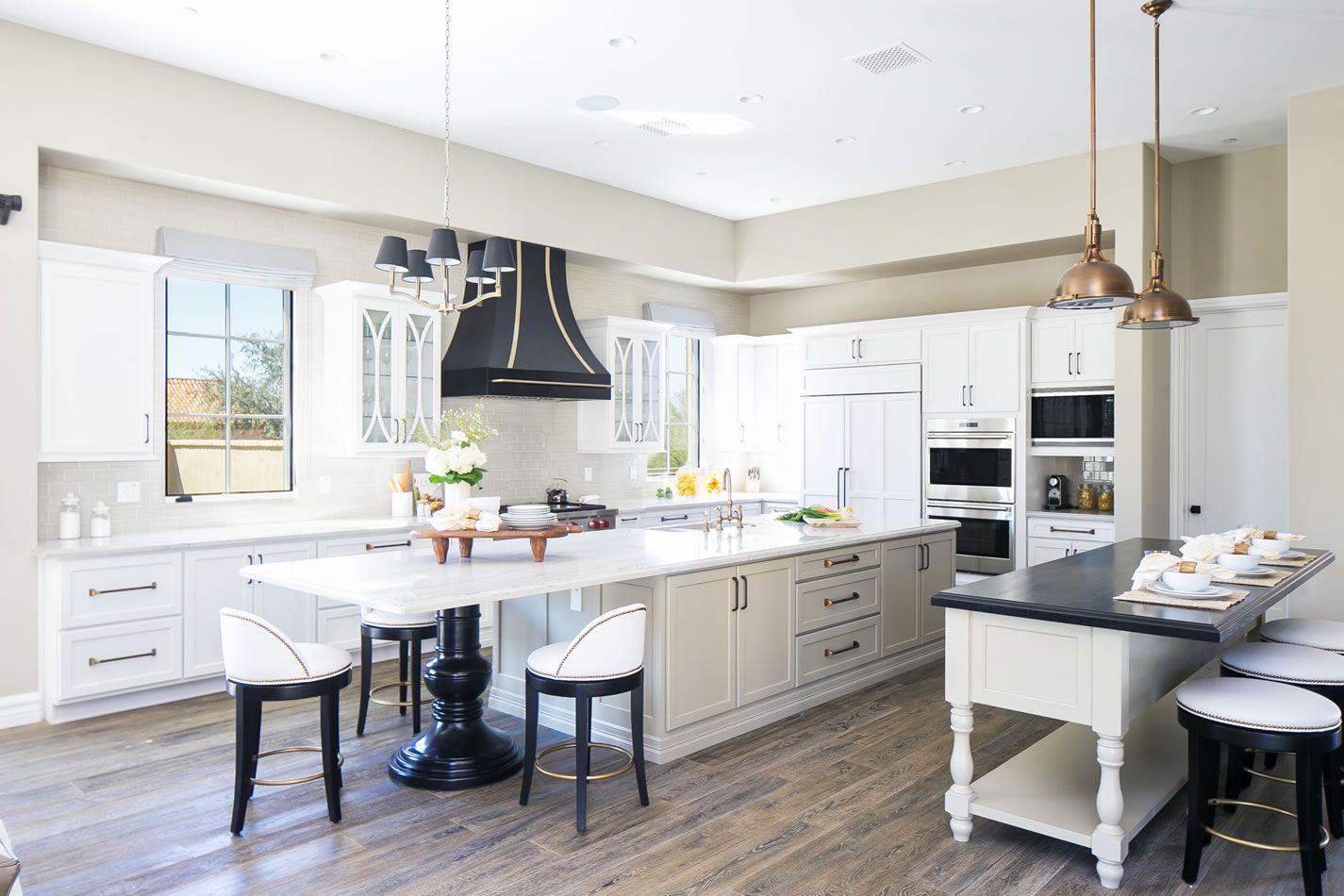 Luster Custom Homes | Kitchen Refrigerator Cabinet Panel Ideas ...