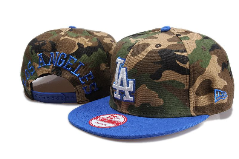 MLB Los Angeles Dodgers Snapback Hats Caps New Era Camouflage 3635! Only   8.90USD 0a247f1f5b1