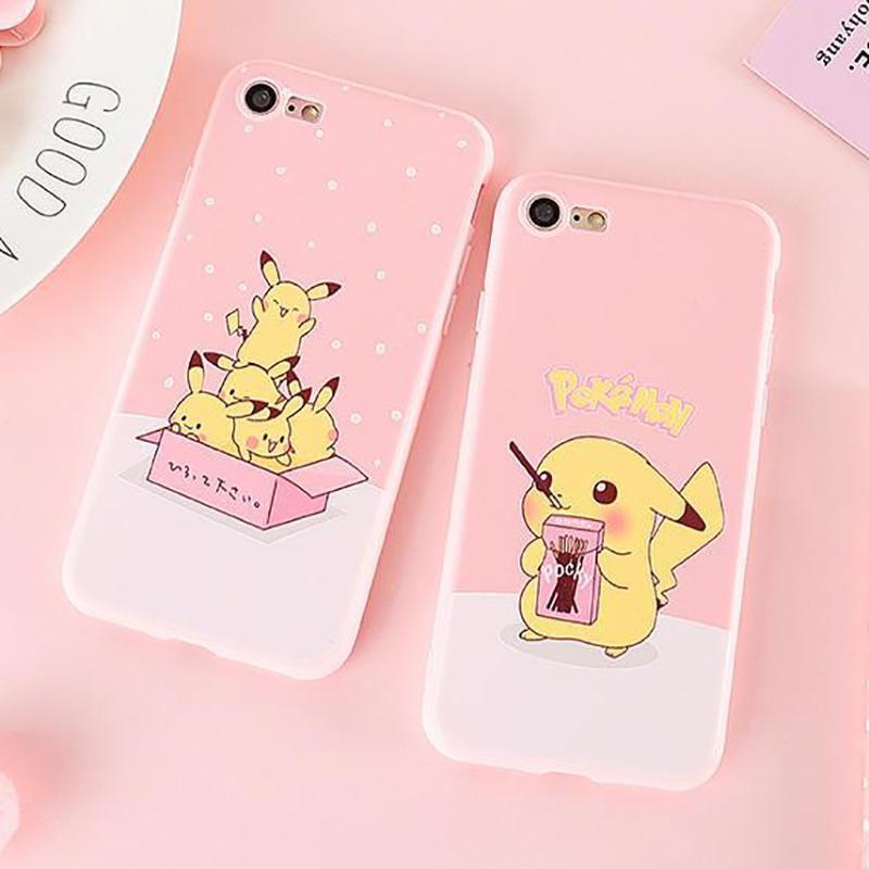 Pokemon Pikachu Cute iPhone Case iPhone