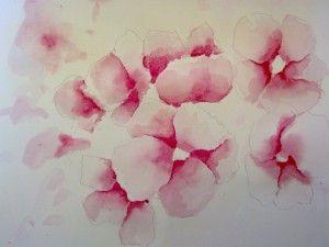 16012012535 Fleurs A L Aquarelle