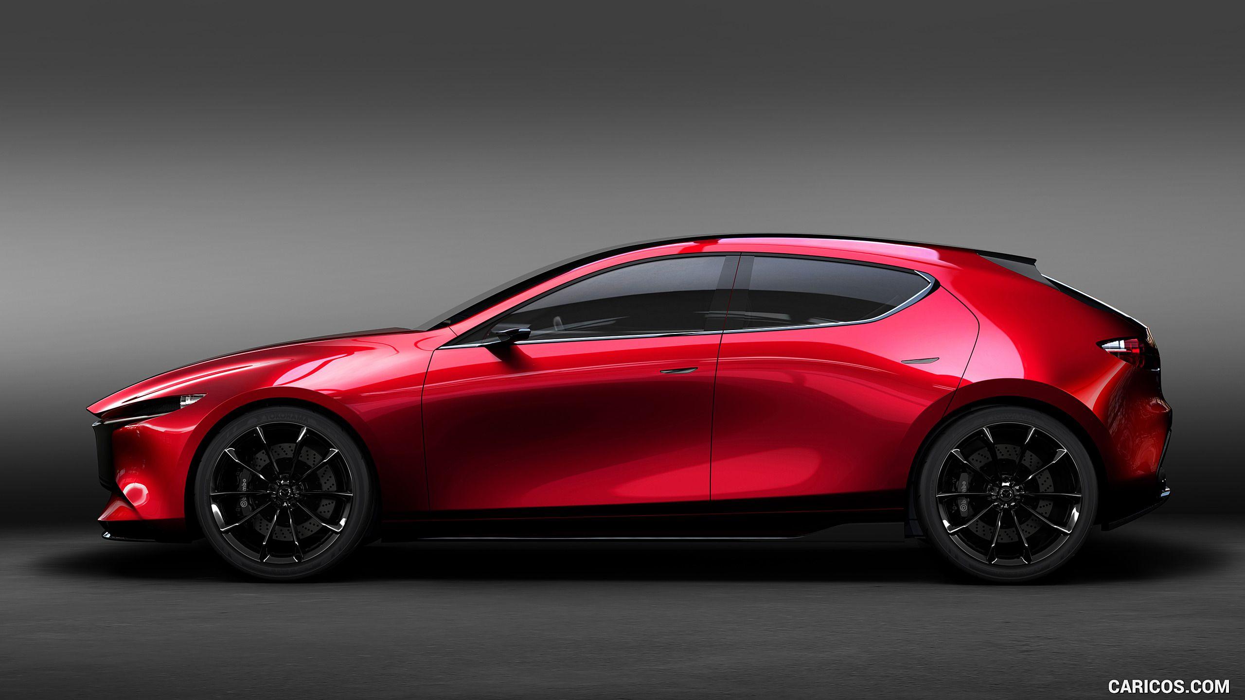2017 Mazda Kai Concept Wallpaper Mazda 3 Hatchback Mazda Cars 4 Door Sports Cars