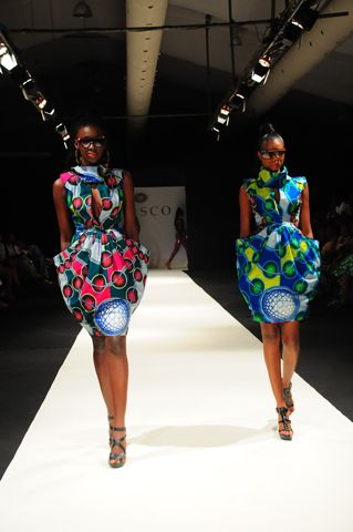 Models in African Fashion at the Vlisco ,USA Fashion Week