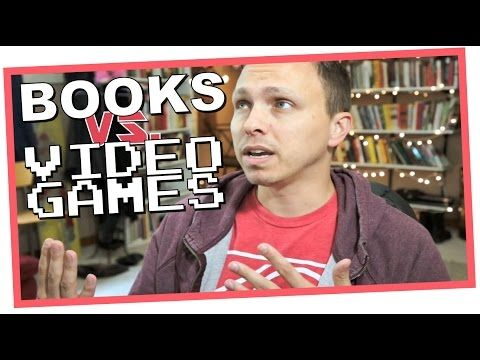 Are books inherently better than videogames? Of course, I don't think so, but allow me a few minutes to talk about why.