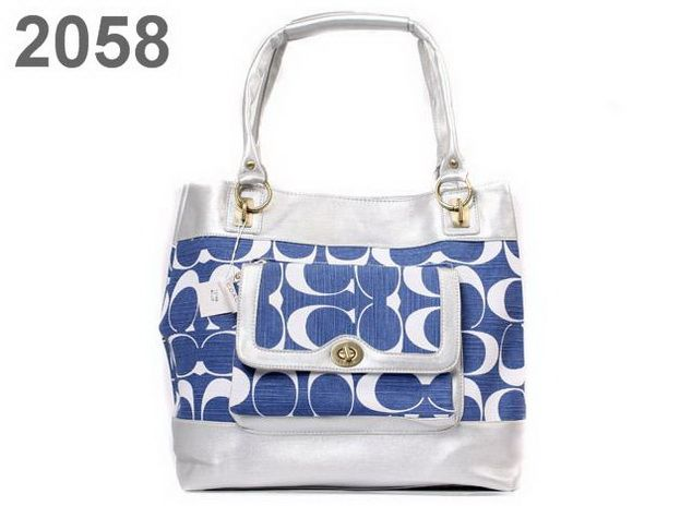coach purse outlet clearance hp16  blue and white coach bag blue and white coach bag