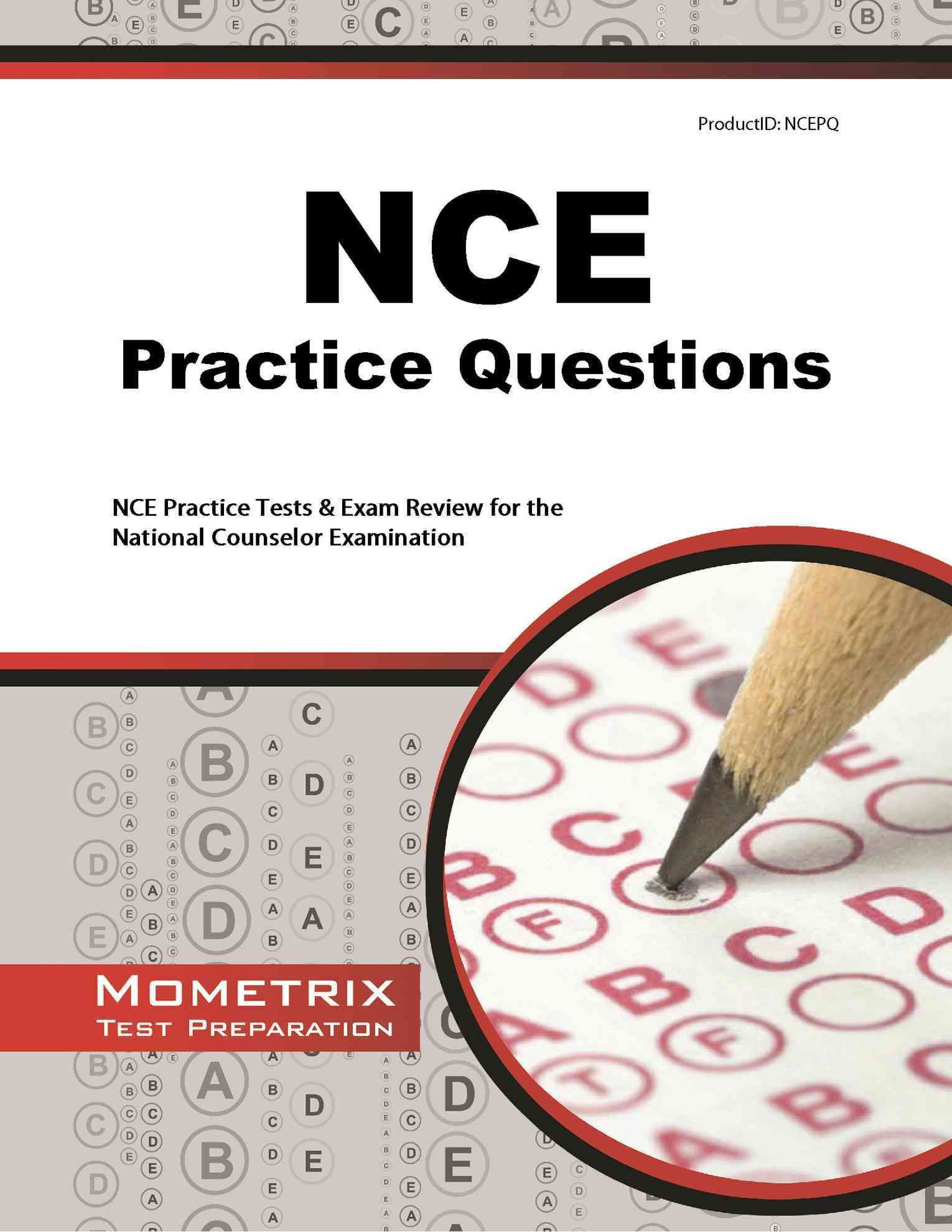 Nce Practice Questions Nce Practice Tests Exam Review For The National Counselor Examination Paperback Test Exam Practice Testing This Or That Questions