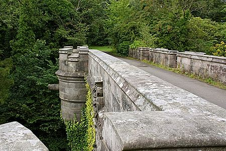Overtoun Bridge Designed by H. E. Milner, constructed in