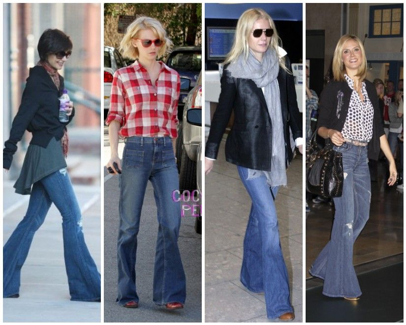 celebs in high waisted flare jeans - Google Search | Style and ...