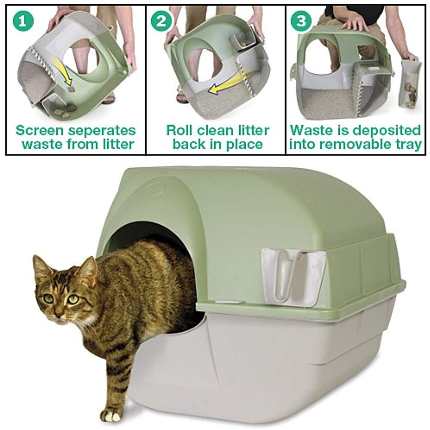 Omega Paw Self Cleaning Litter Box Click Image To Review More Details This Is An Affiliate Link Cat Litter Cleaning Kitty Litter Litter Box