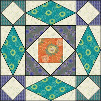 I've discovered a new favorite quilt block pattern. Storm at sea ... : storm at sea quilt block - Adamdwight.com