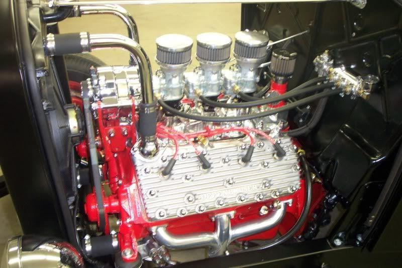 GM alternator on flathead ford v8 The H.A.M.B. Ford v8