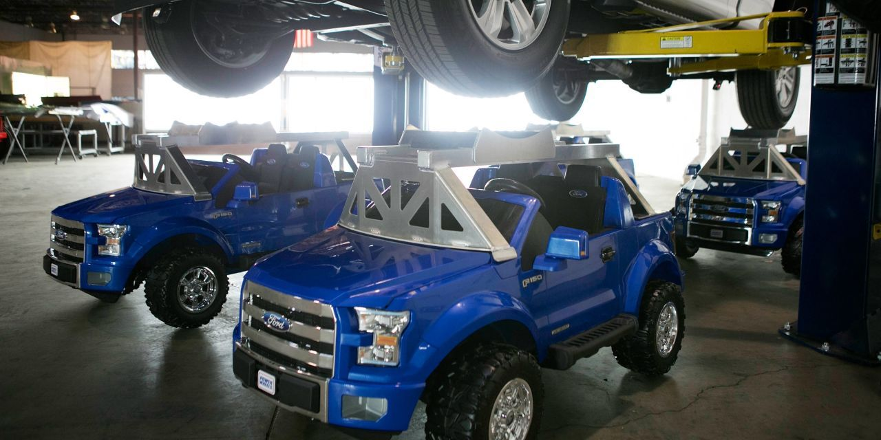 The power wheels ford f 150 can support a real f 150