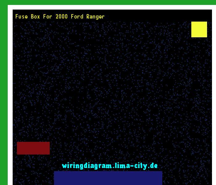 fuse box for 2000 ford ranger wiring diagram 185749 amazing rh pinterest com