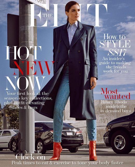 Hilary Rhoda for The Edit Magazine 2017