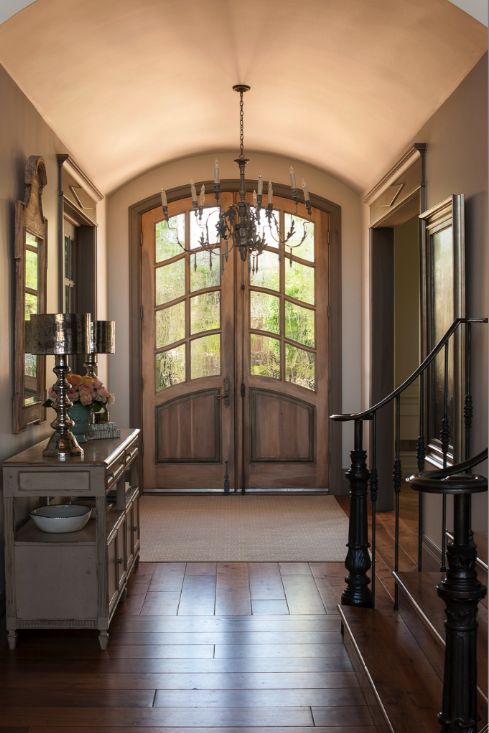 Country Home Foyers : Same entry as the french country one i love just diff t