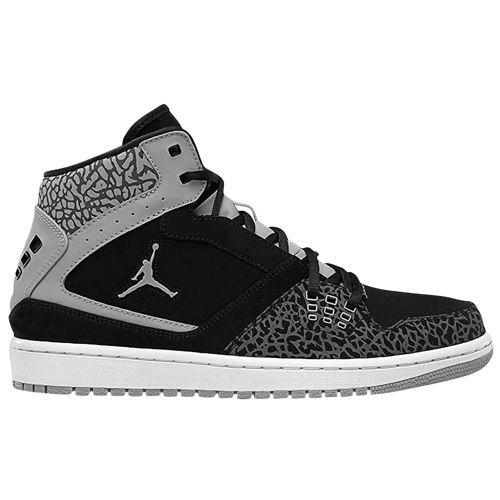 1eef82de2ab837 Jordan 1 Flight - Men s - Basketball - Shoes - Light Graphite Black Stealth  White