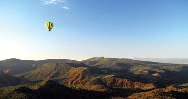 Sedona's original hot air balloon company Northern Light