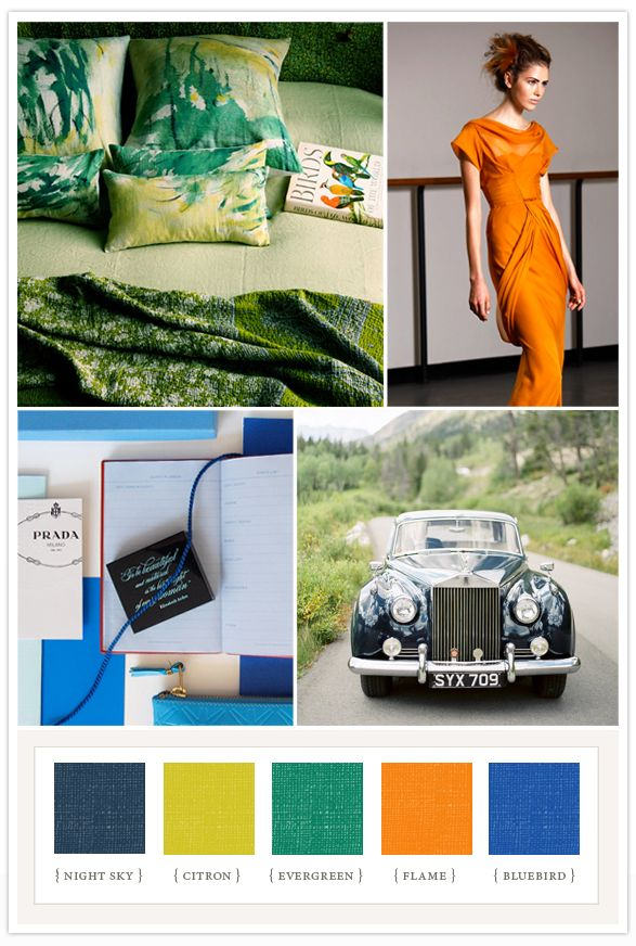 Colorboard #39: Summer brights | Colorboards | 100 Layer Cake