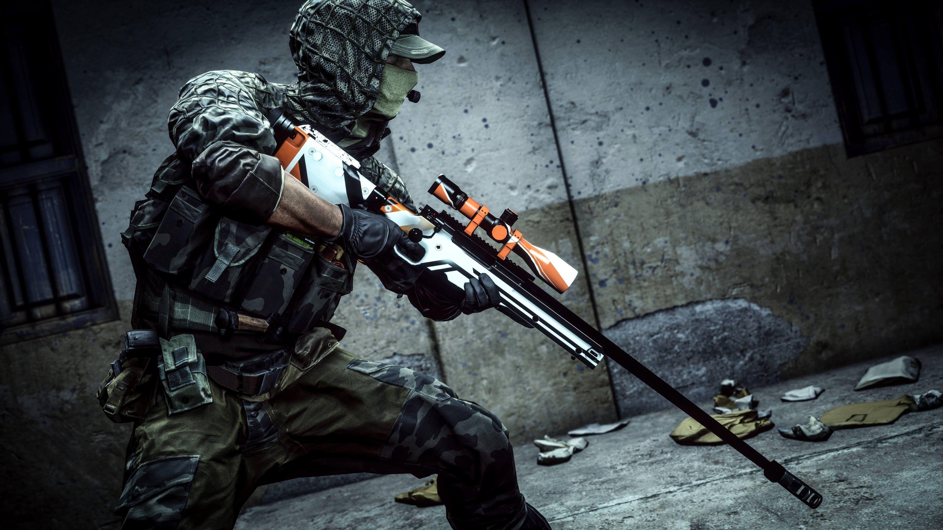 3840x2160 Battlefield 4 4k Desktop Wallpaper Cool Battlefield 8k Wallpaper Sniper