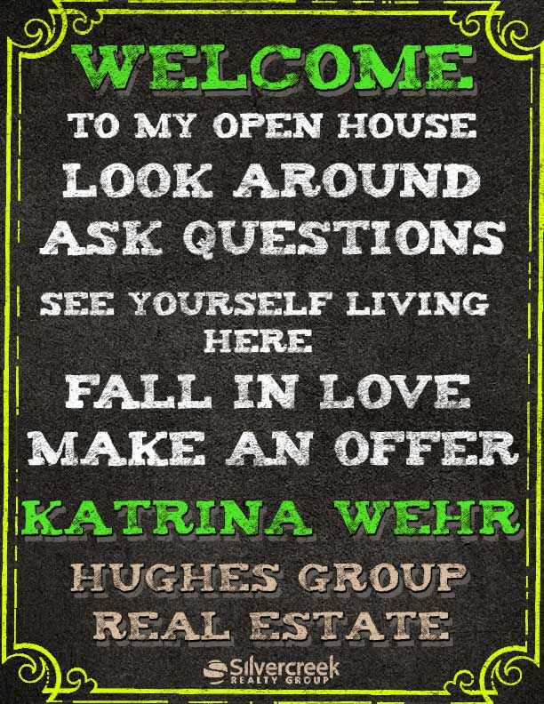 Check Out My New Open House Flyer Realtor Realestate