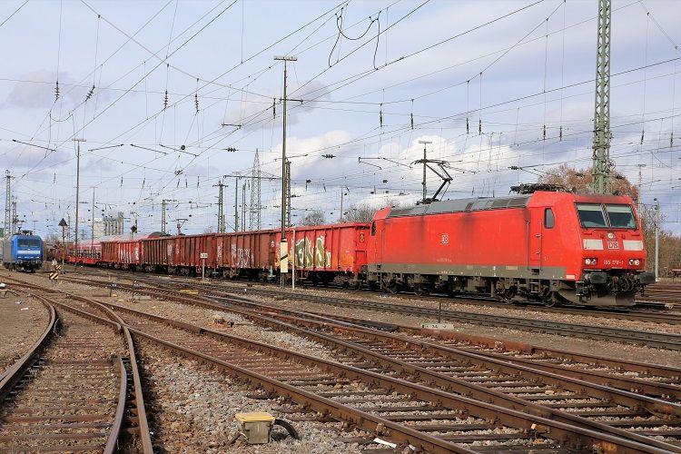 "Bombardier 33661 DB Cargo ""185 1781"" in 2020 Train"