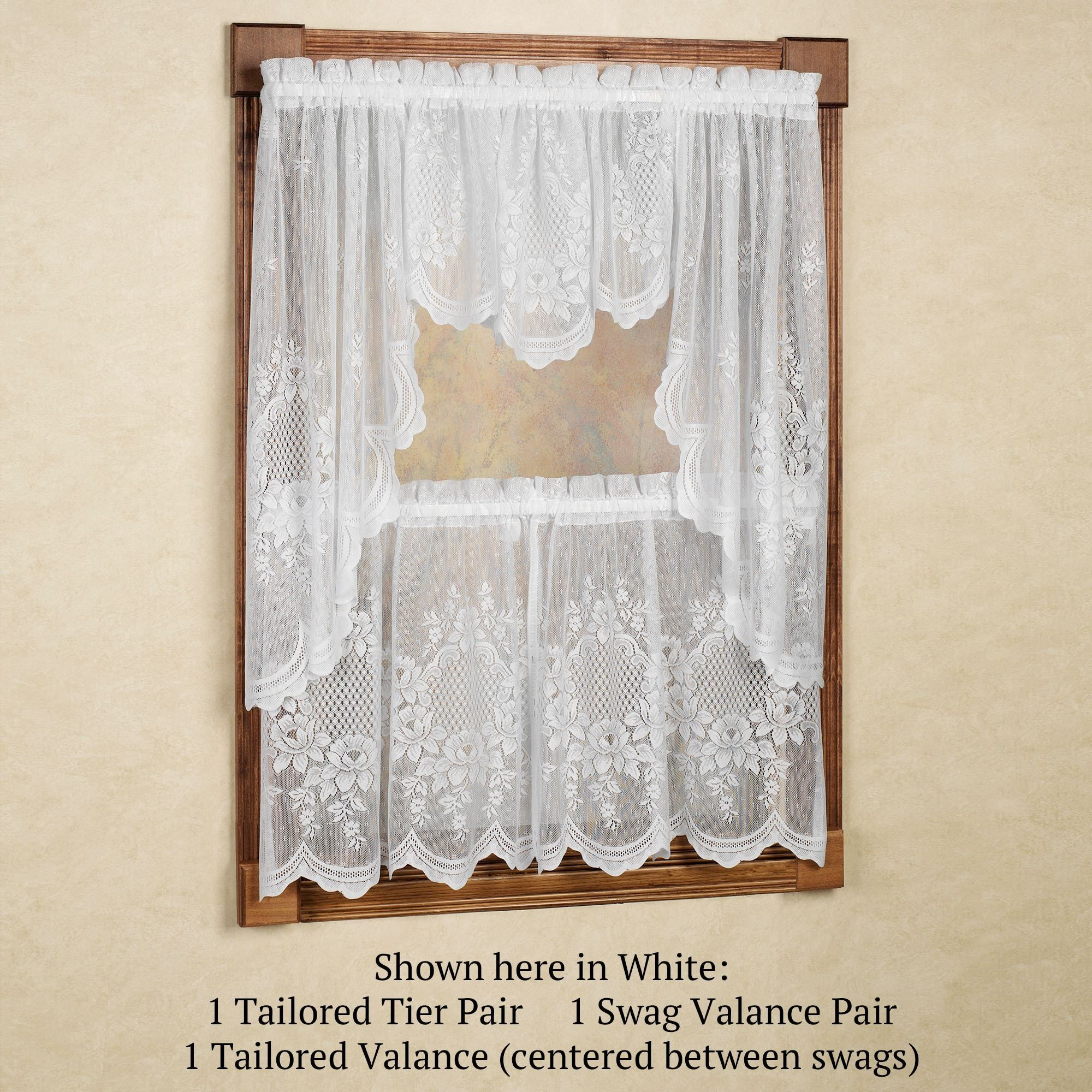 Lace Kitchen Window Curtains | http://realtag.info | Pinterest ... for Lace Kitchen Window Curtains  55nar