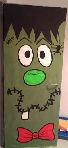 Puerta MONSTRUOS Pinterest Halloween ideas, Happy halloween - preschool halloween decorations