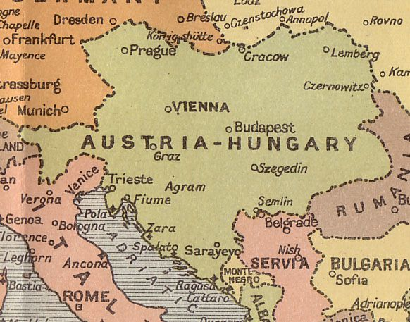 AustrianHungarian Empire That Is Where My Ancestors Are From - Where is hungary