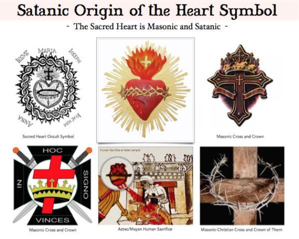 St Valentines Day 2 Occult Heart Symbols Symbols Hearts