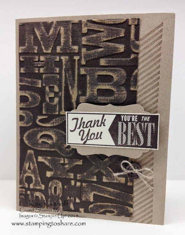 Hello Lovely Thank You Card With How To Video Stampin Up Only