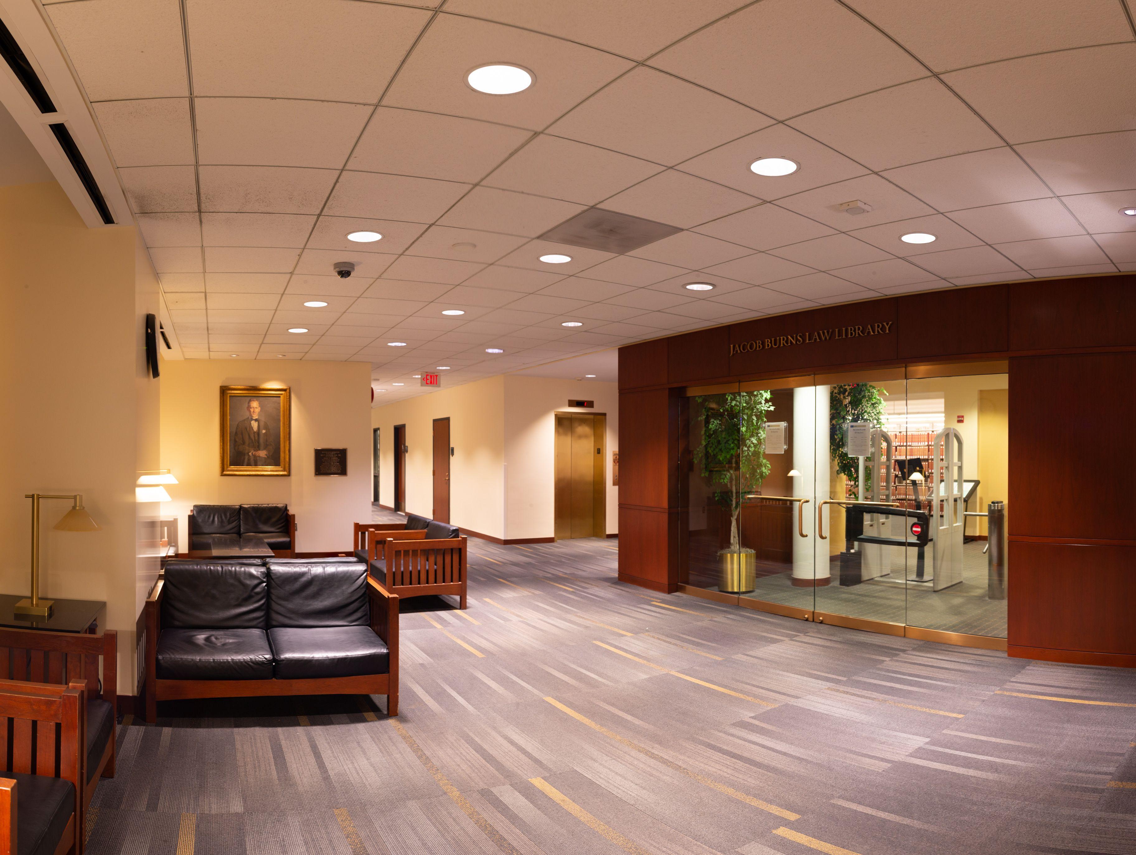 Gw Law Library Second Floor Entrance Second Floor Entrance Flooring