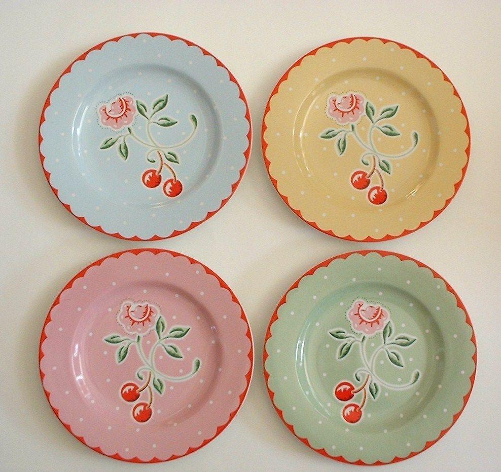 Mary Engelbreit Plates Cherry Kitchen Mary Engelbreit