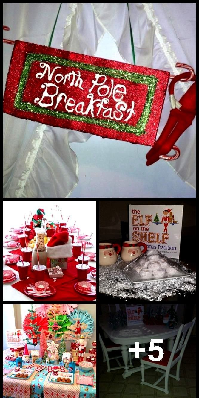 39 s Back  North Pole breakfast elf on the shelf Buddy  39 s Back  North Pole breakfast elf on the shelf Buddy  39 s Back  North Pole breakfast elf on the shelf A delici...