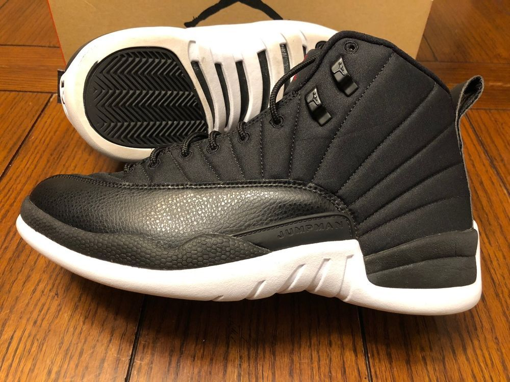online store 41ae1 c5b33 Nike Air Jordan 12 XII Retro Neoprene Black Nylon 130690-004 MEN S Size 10   NIKEJORDAN  AthleticSneakers