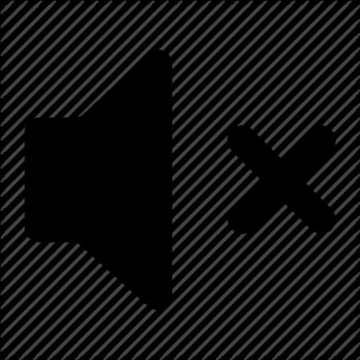 Mute Off Sound Speaker Volume Icon Download On Iconfinder Icon Speaker Vector Pattern