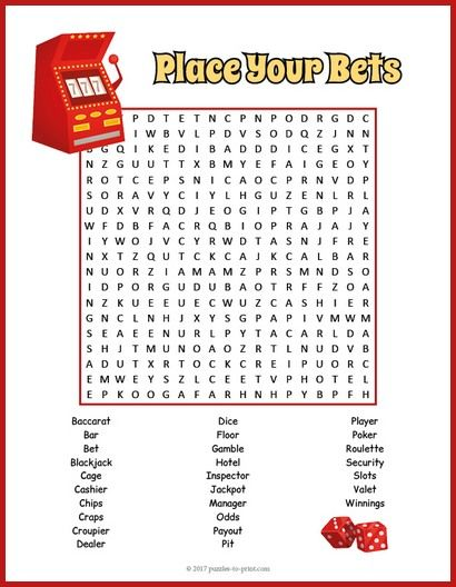 Thebes Casino Word Hunt