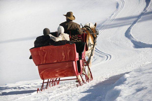Sylwester ze śniegiem - Suwalszczyzna