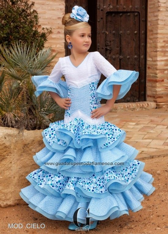 6cd0001fe Traje gitana niña | Fashion en 2019 | Flamenco, Traje flamenca niña ...