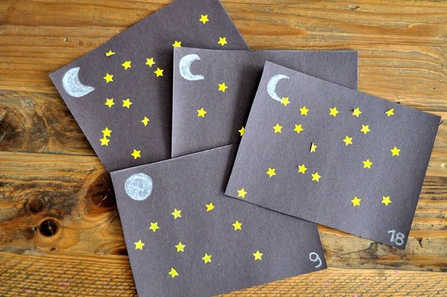 Outer Space For Preschoolers- Just Make It A Sticker Craft