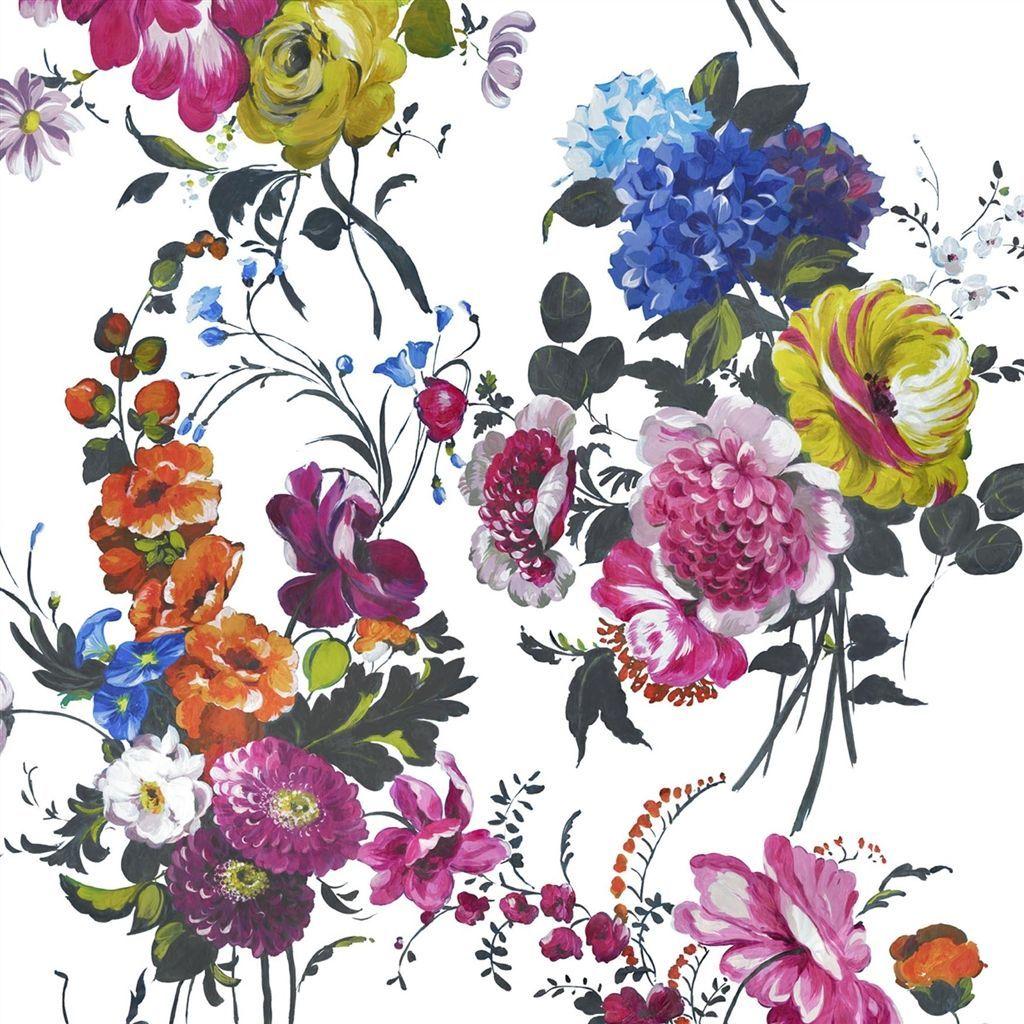 Amrapali Peony Fabric Designers Guild Pattern