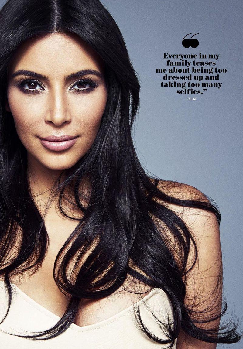 Beauty Mags Kim Kardashian  Kendall Jenner  Kylie Jenner  Khloé