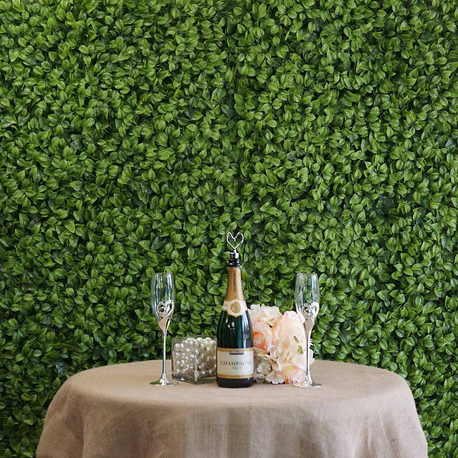 11 sq ft 4 panels artificial boxwood hedge elliptical on interior using artificial boxwood panels with flowers id=11990