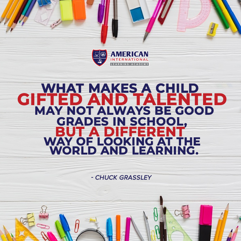 What Makes A Child Gifted And Talented May Not Always Be Good Grades In School But A Different Way Of Looking A Education Quotes Teaching Clipart Good Grades