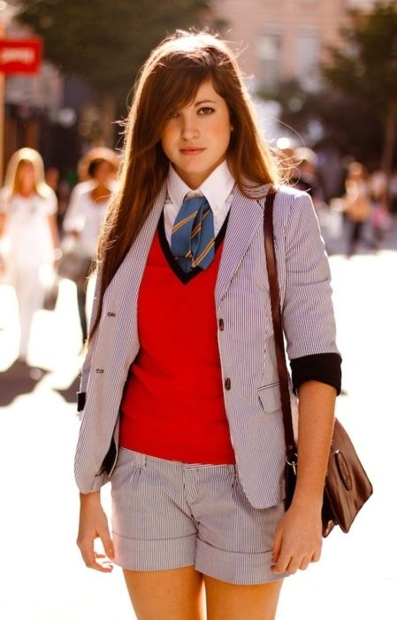 cd02d39f5960 Becoming a Preppy Girl in High School