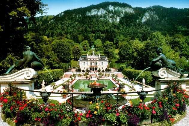 Linderhoff Schloss In Fussen Bavaria Province Duitsland Germany Com Imagens Castelo Casamento