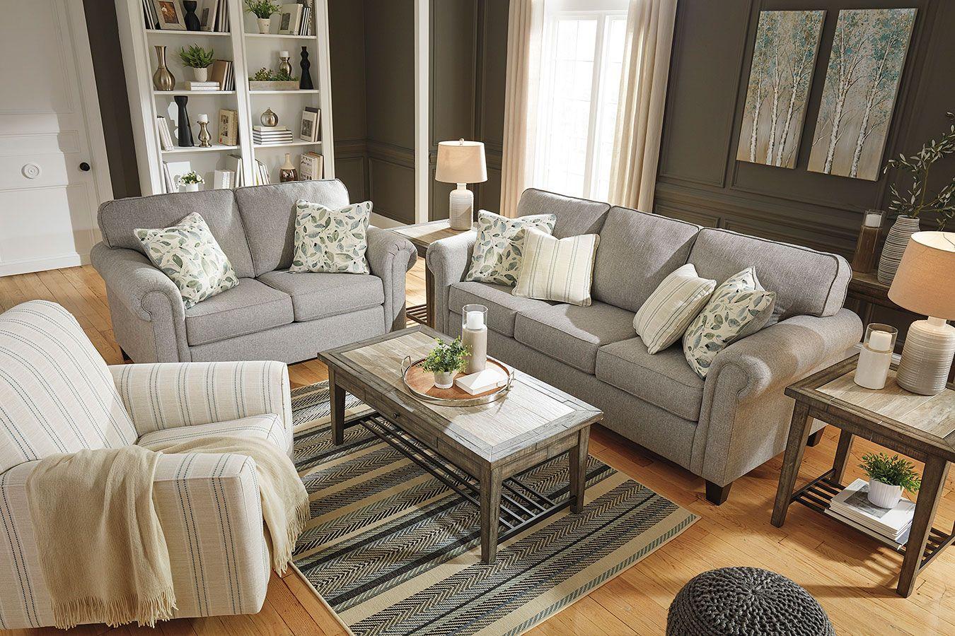 Best Alandari Gray Living Room Set In 2019 Lovely Living 400 x 300